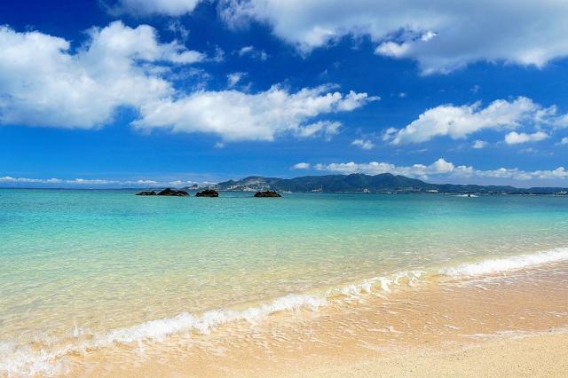 南国リゾートのビーチ