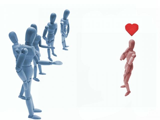 恋愛と交際